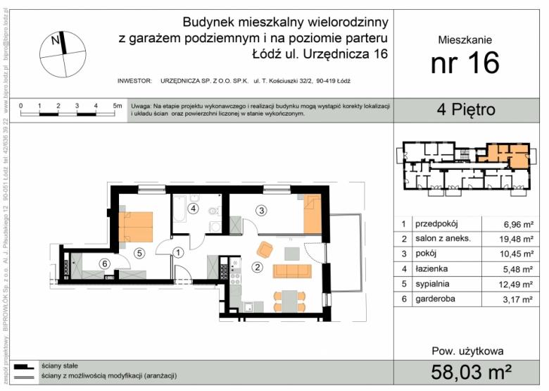 Apartament nr. 16