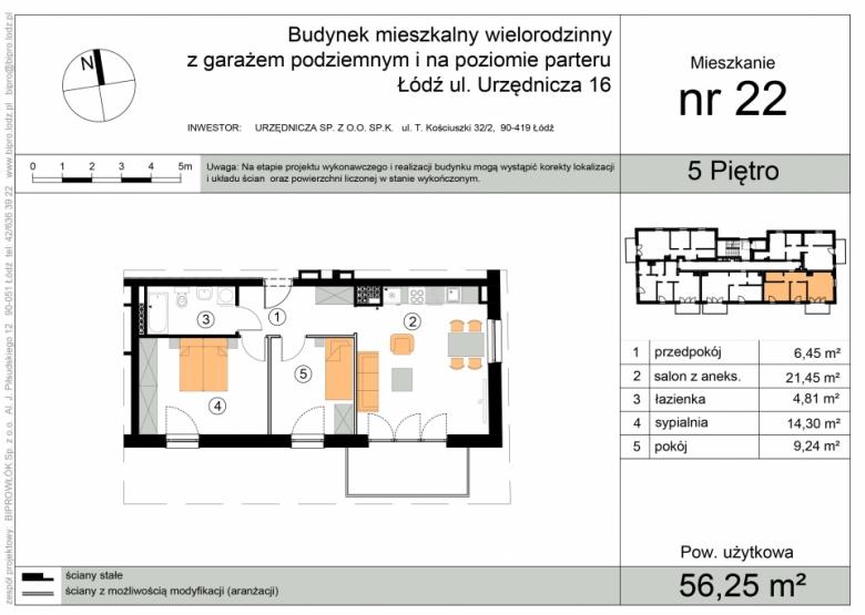 Apartament nr. 22