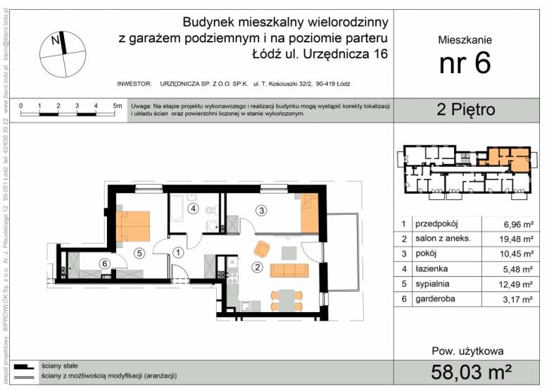 Apartament nr. 6