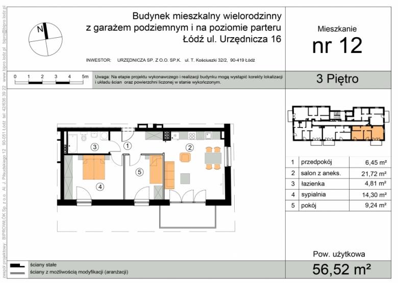 Mieszkanie nr 12