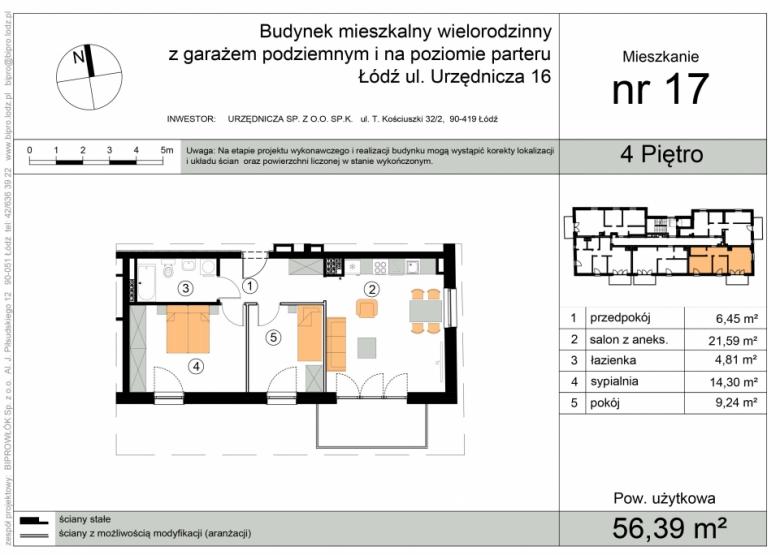 Apartament nr. 17