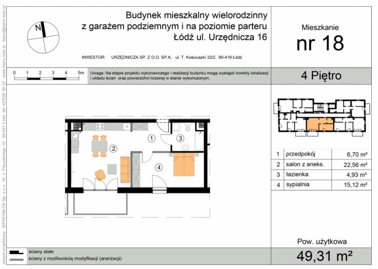 Mieszkanie nr 18