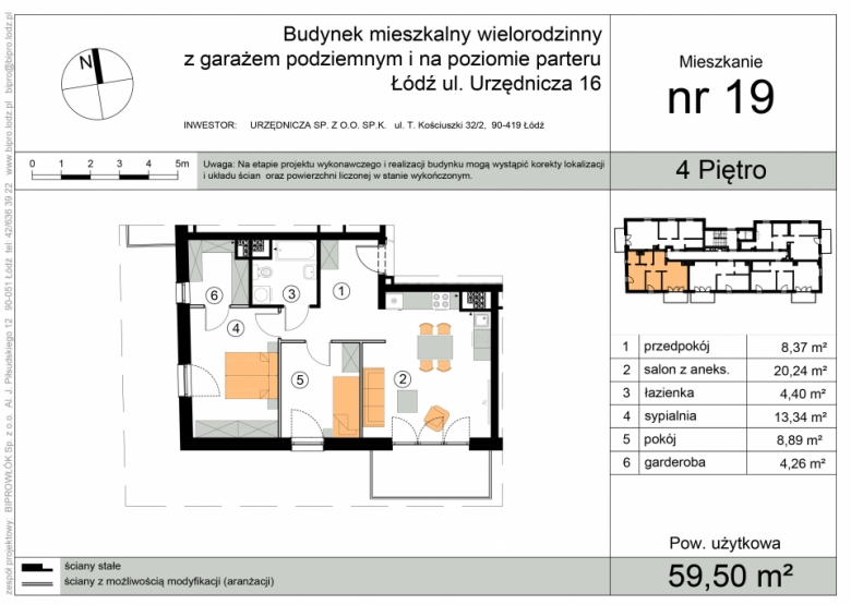 Mieszkanie nr 19