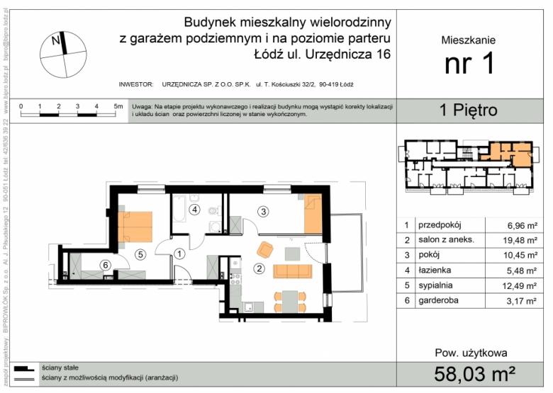 Apartament nr. 1