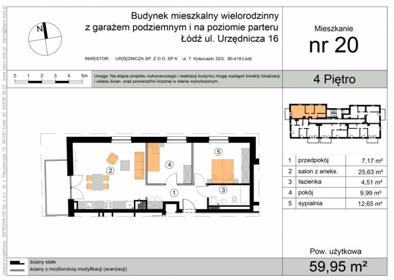 Apartament nr. 20