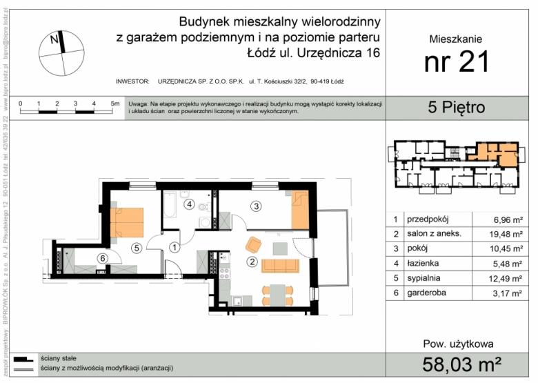 Apartament nr. 21