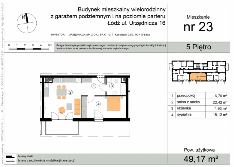 Apartament nr. 23